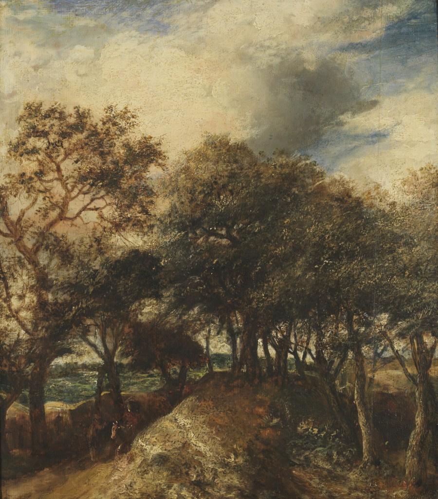 Ян Ливенс. Пейзаж с дюнами и деревьями