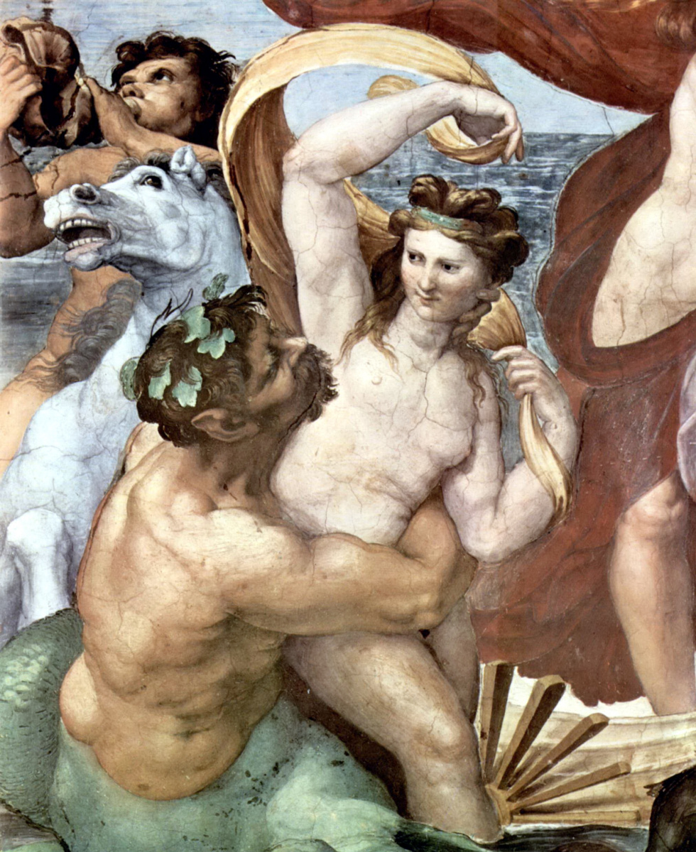 Raphael Sanzio. Loggias Psyche