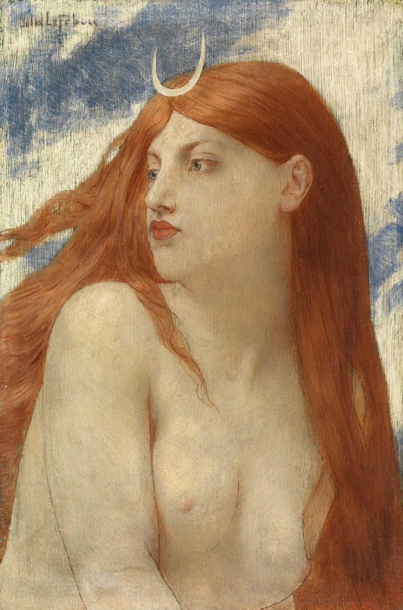 Jules Joseph Lefebvre. Artemis or Diana.