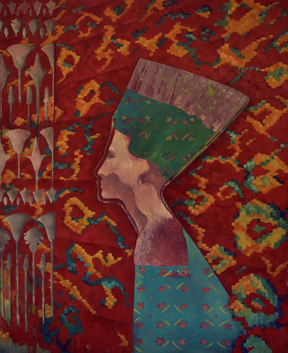 Marina Venediktova. MYTH-XIV. EGYPT 110*90 cm, original oil painting