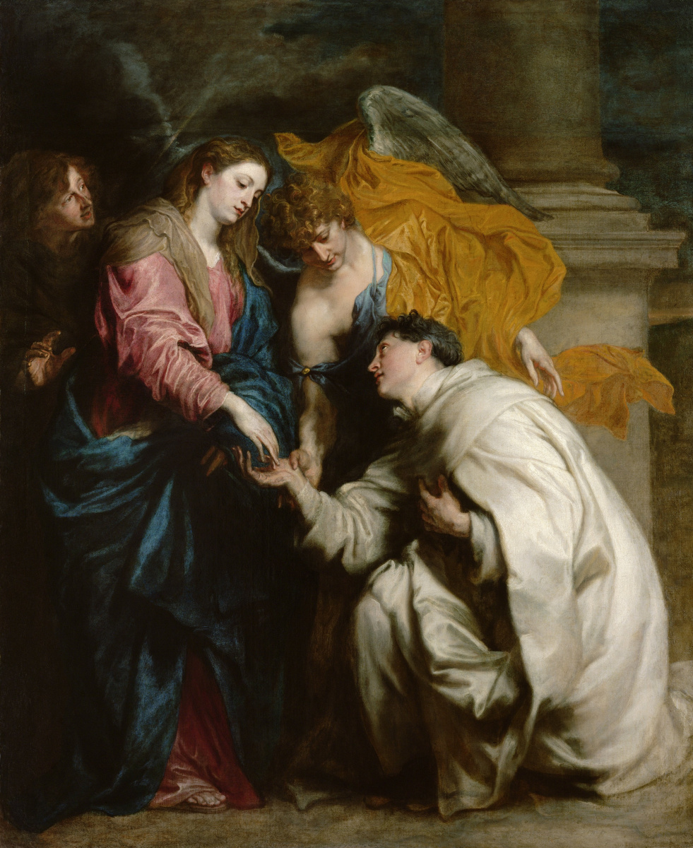 Anthony van Dyck. The vision of the blessed Herman Joseph