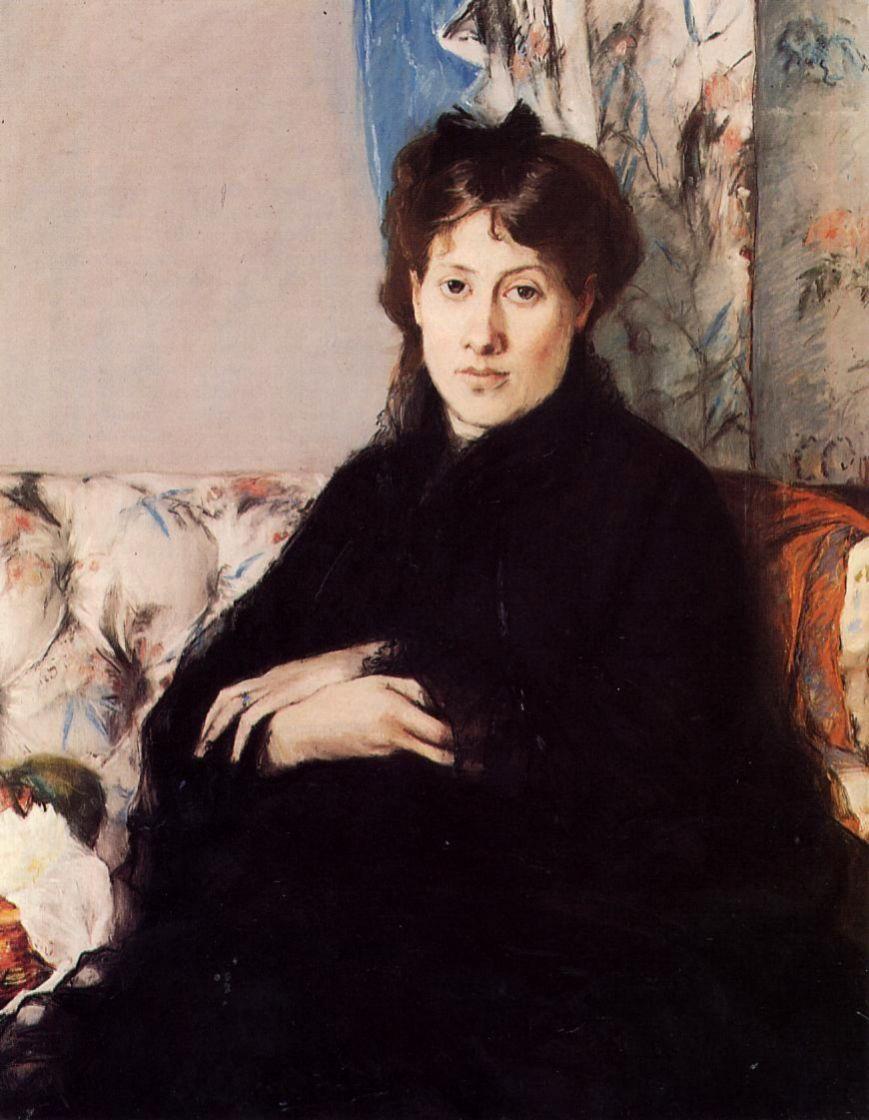 Берта Моризо. Портрет мадам Понтийон