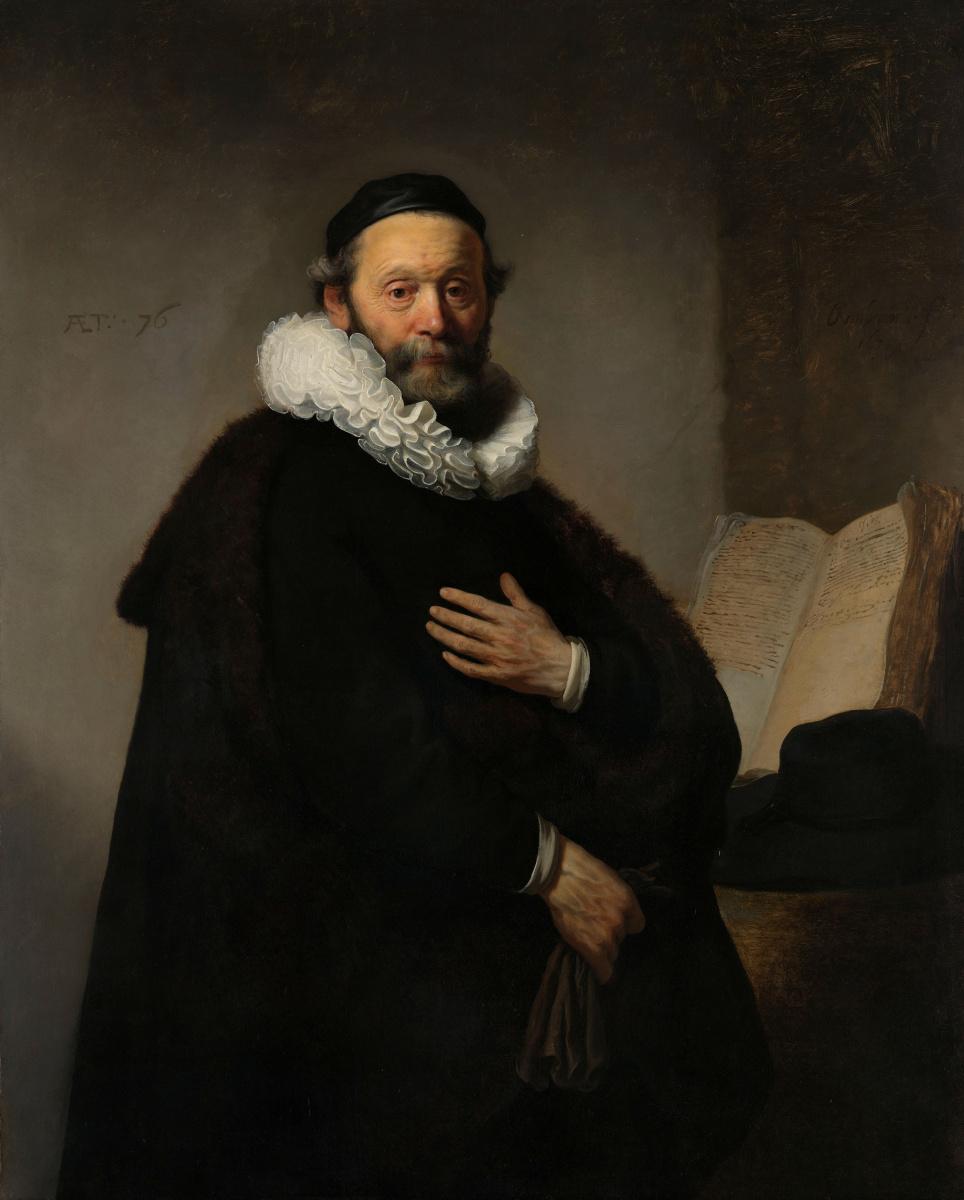 Рембрандт Харменс ван Рейн. Портрет Йоханнеса Уотенбогарта