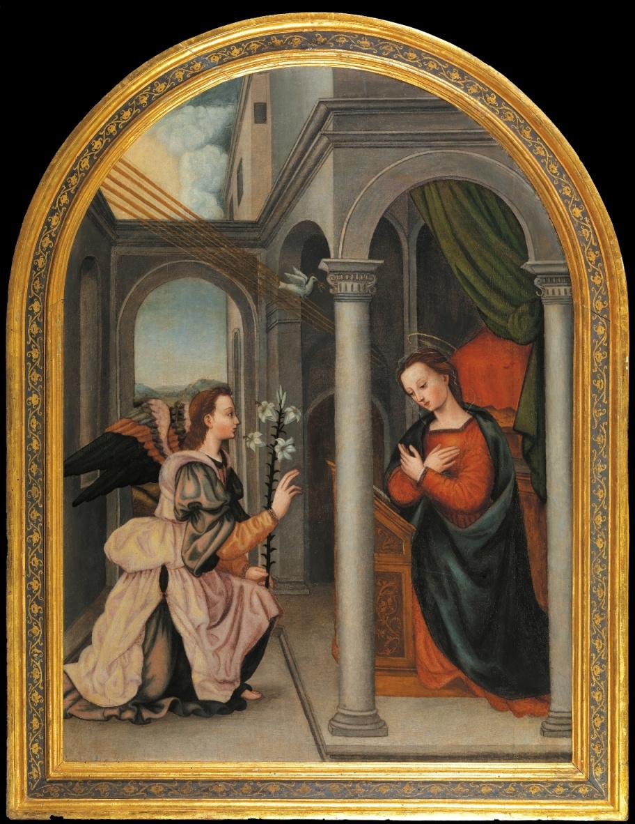 Plautilla Nelly. Annunciation
