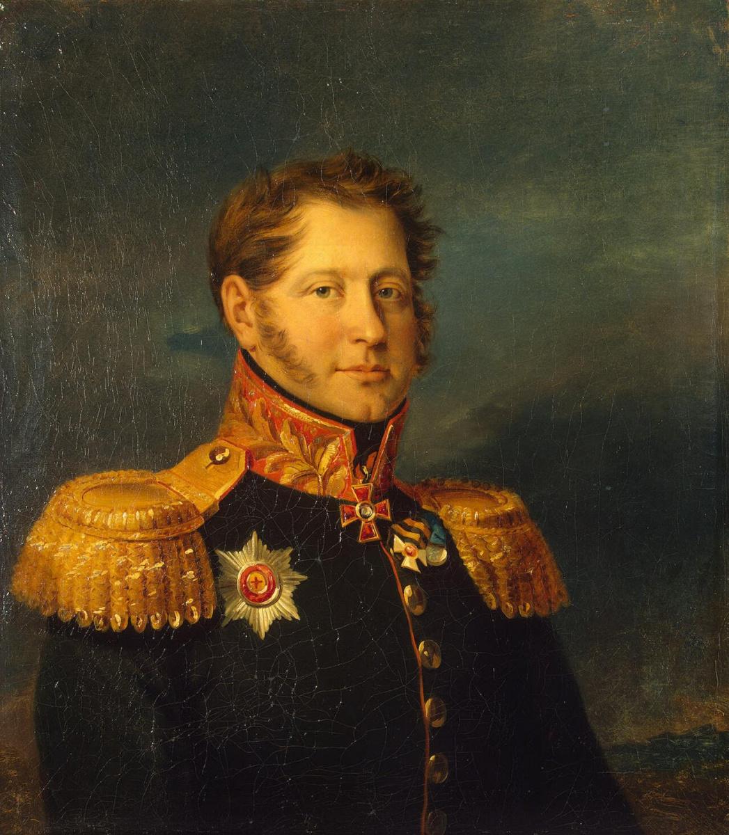 Джордж Доу. Портрет Александра Ивановича Грессера