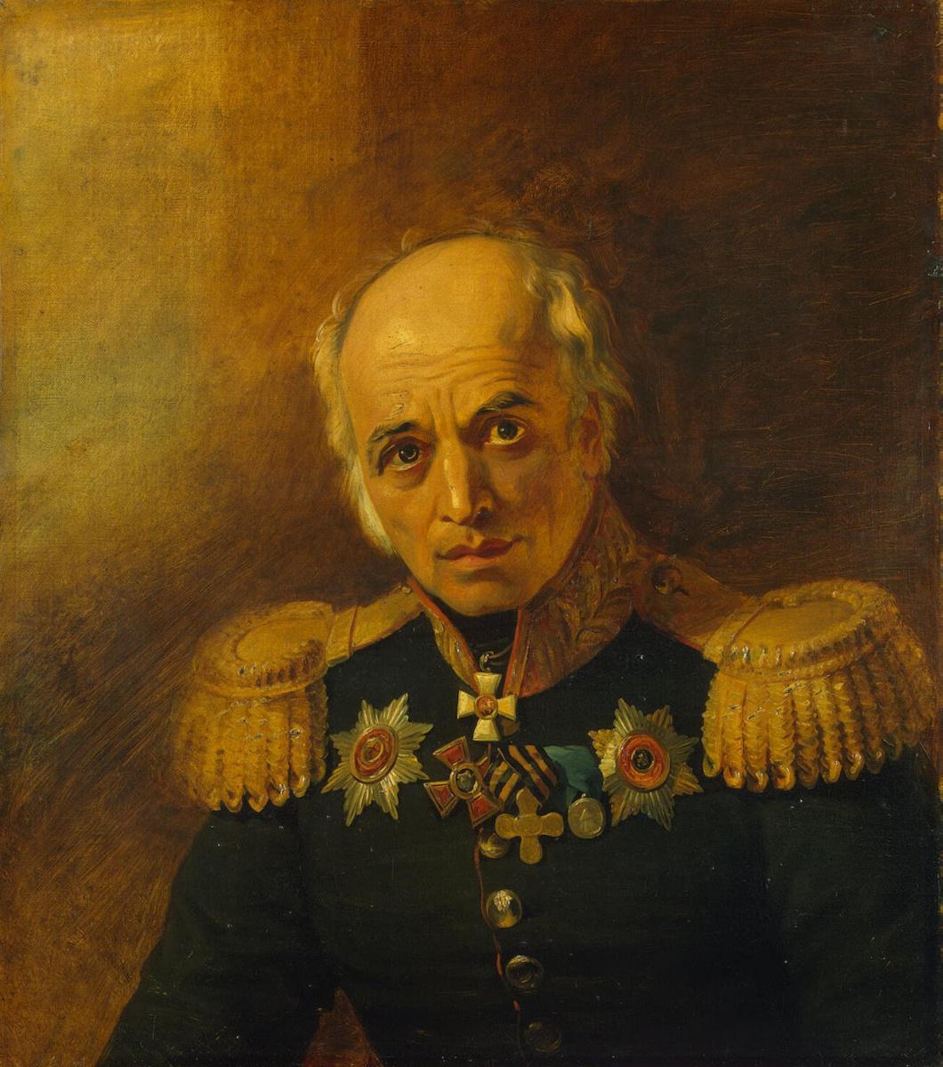 George Dow. Portrait of Panteleimon Yegorovich Benardos