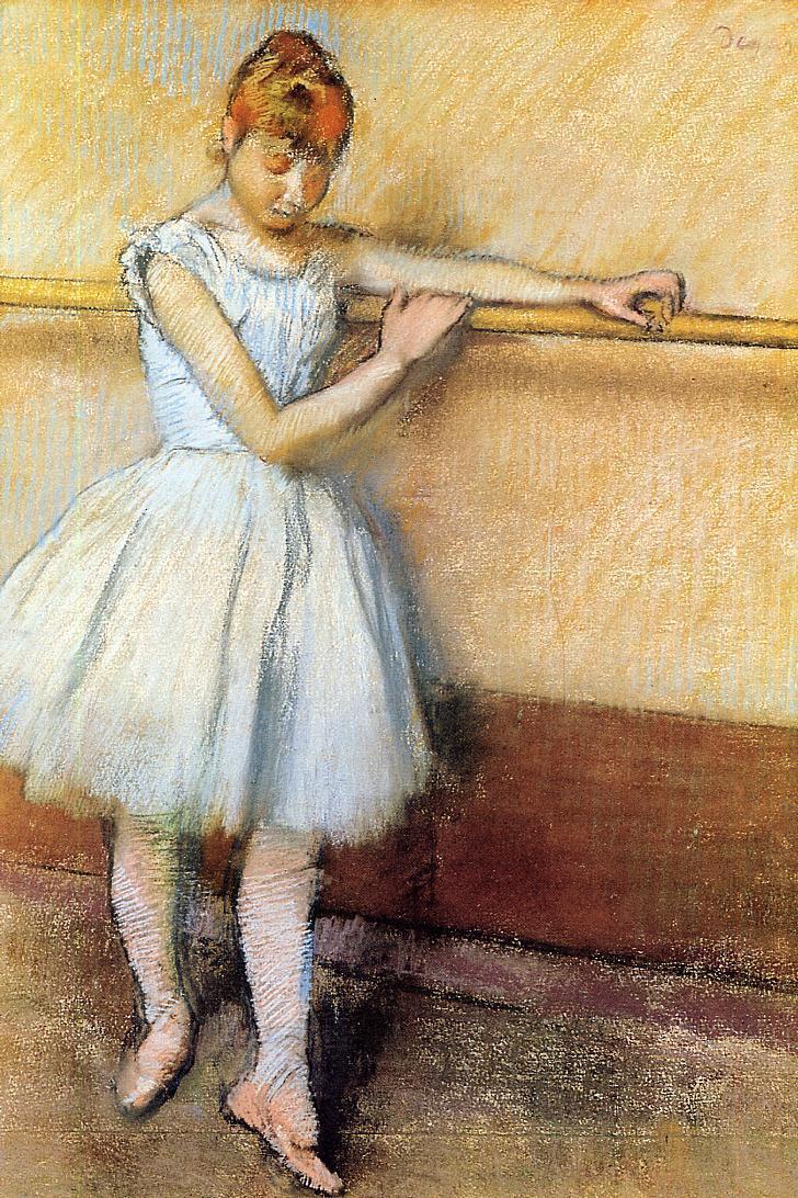 Эдгар Дега. Танцовщица в Барре