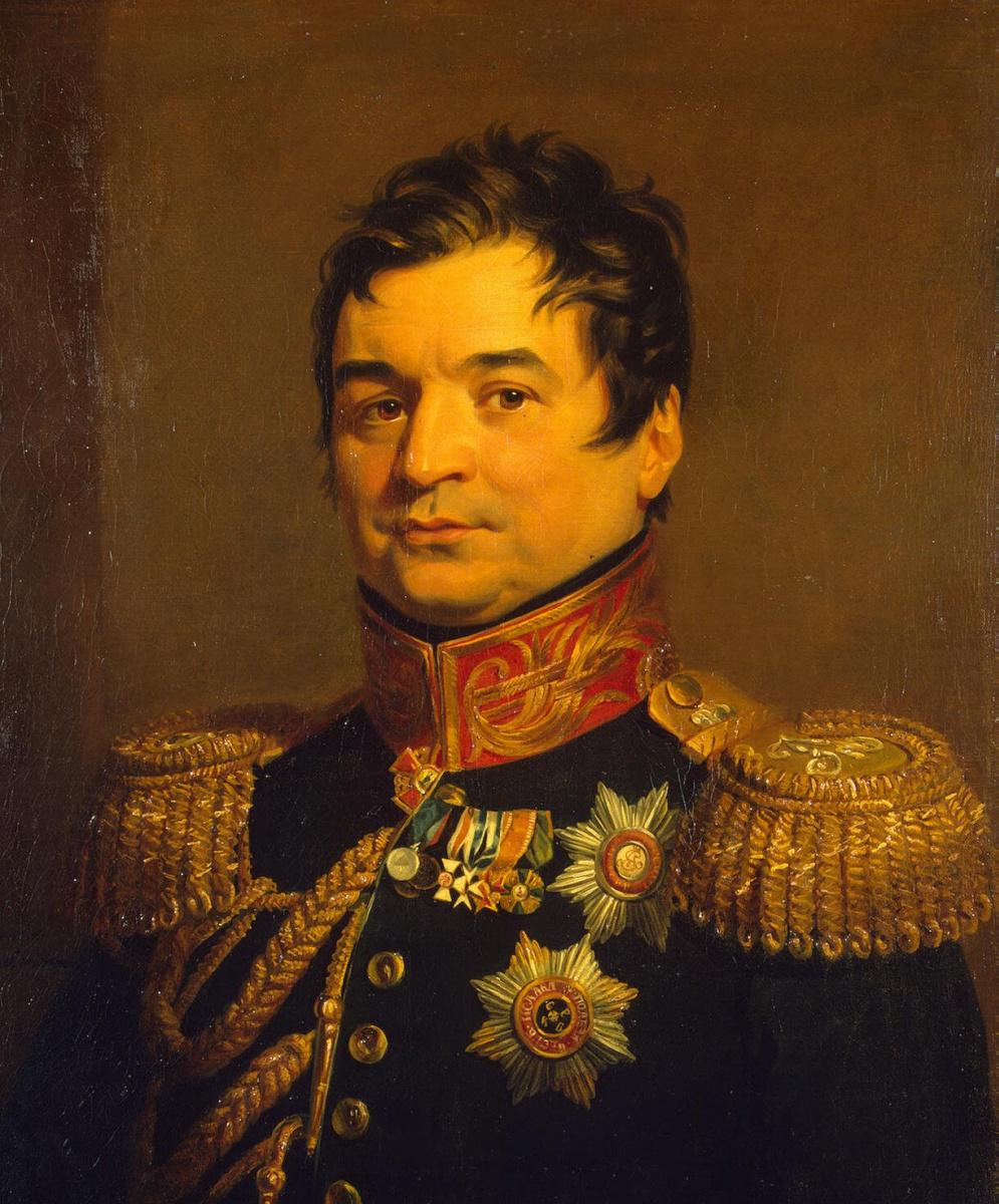 Джордж Доу. Портрет Александра Дмитриевича Балашова