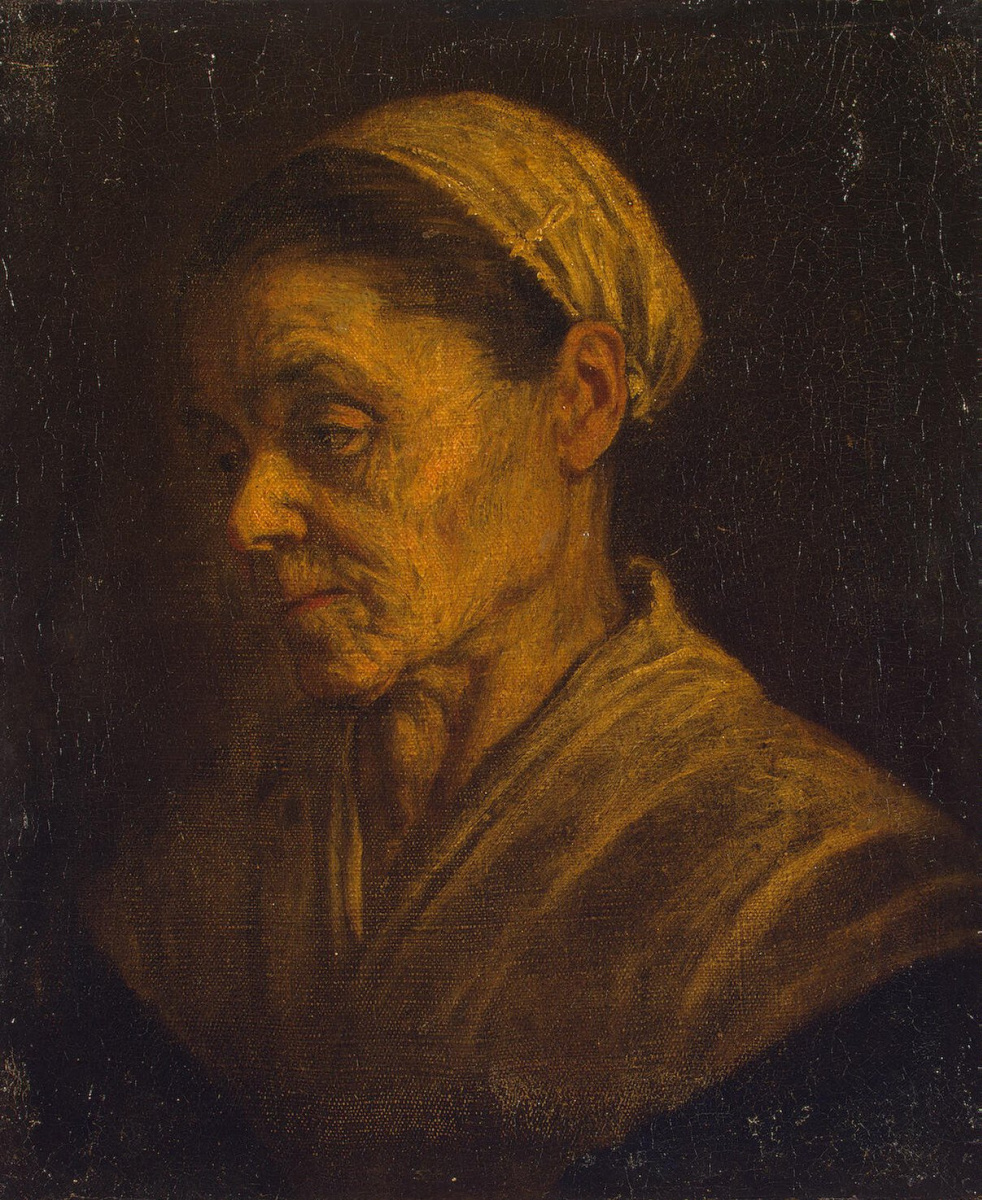 Leandro Bassano. Portrait of an old woman