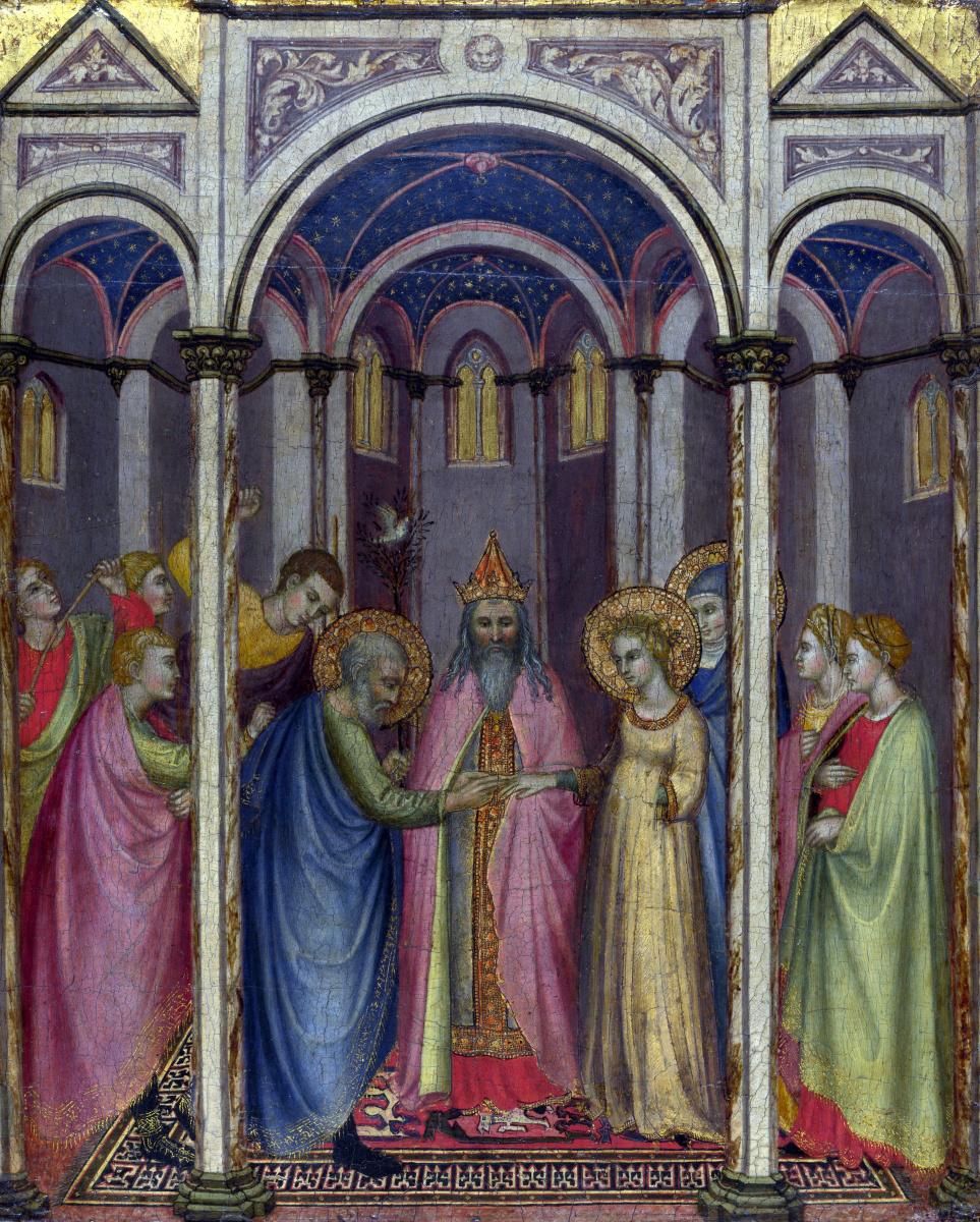 Ди Чекко ди Лука Грегорио. Обручение Девы Марии