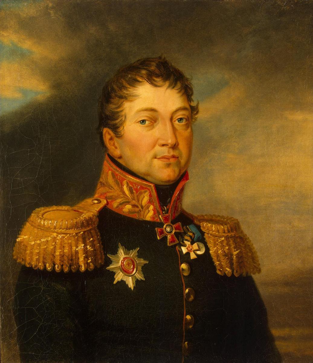 Джордж Доу. Портрет Отто Федоровича фон Кнорринга