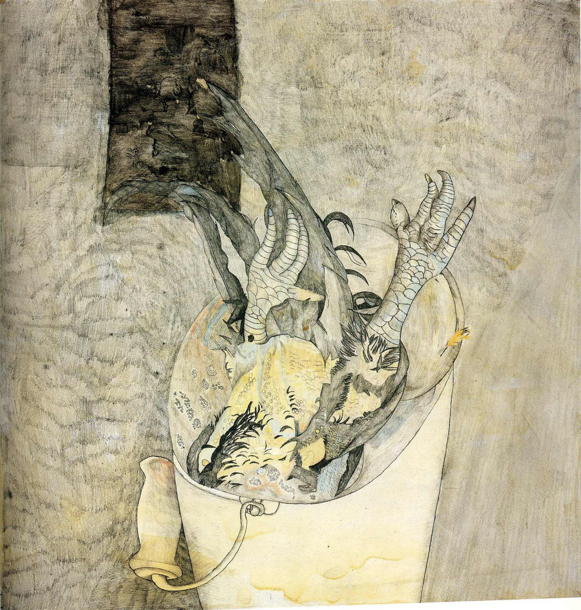 Lucien Freud. Untitled