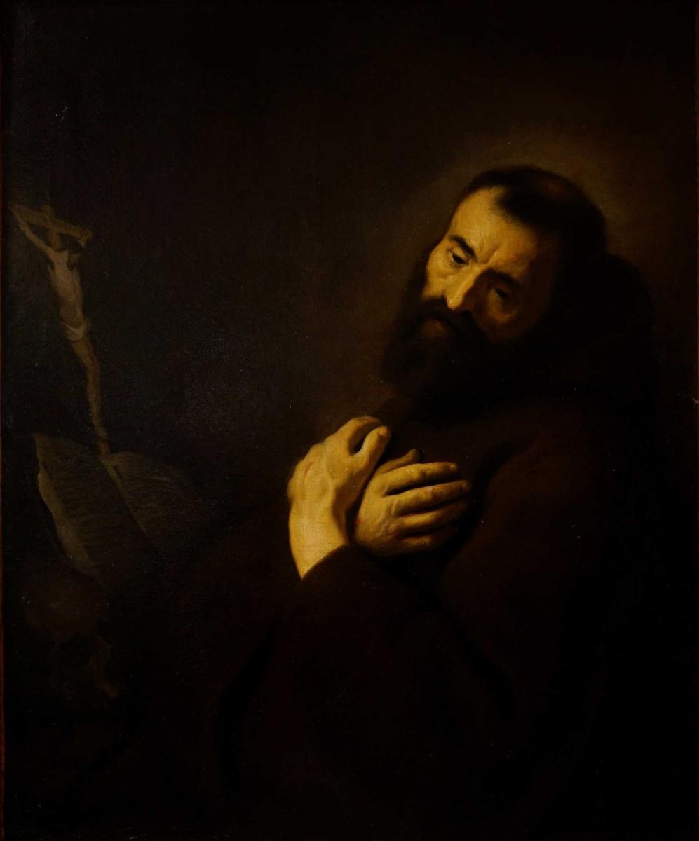 Jan Lievens. St. Francis II