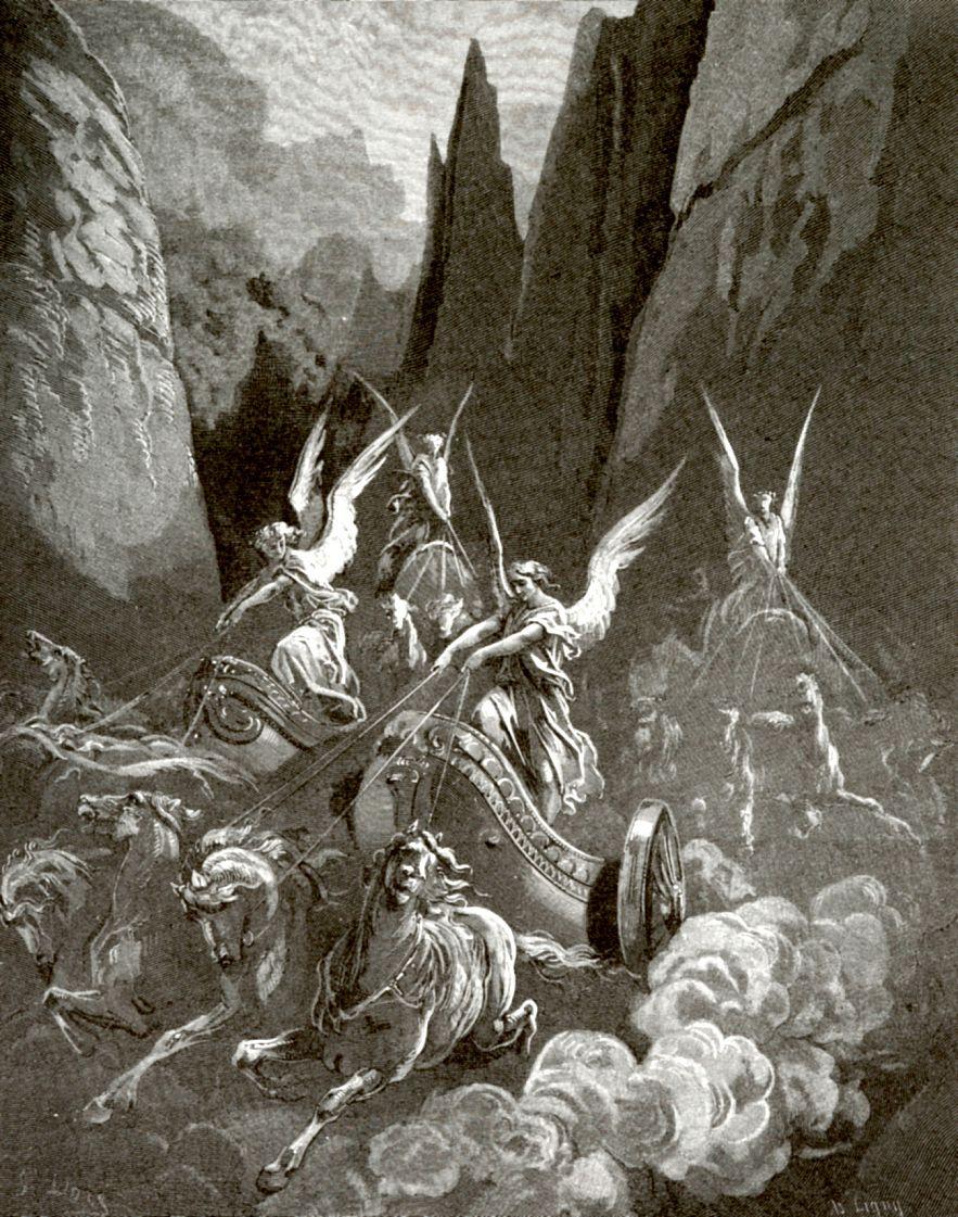 Поль Гюстав Доре. Видение пророка Захарии