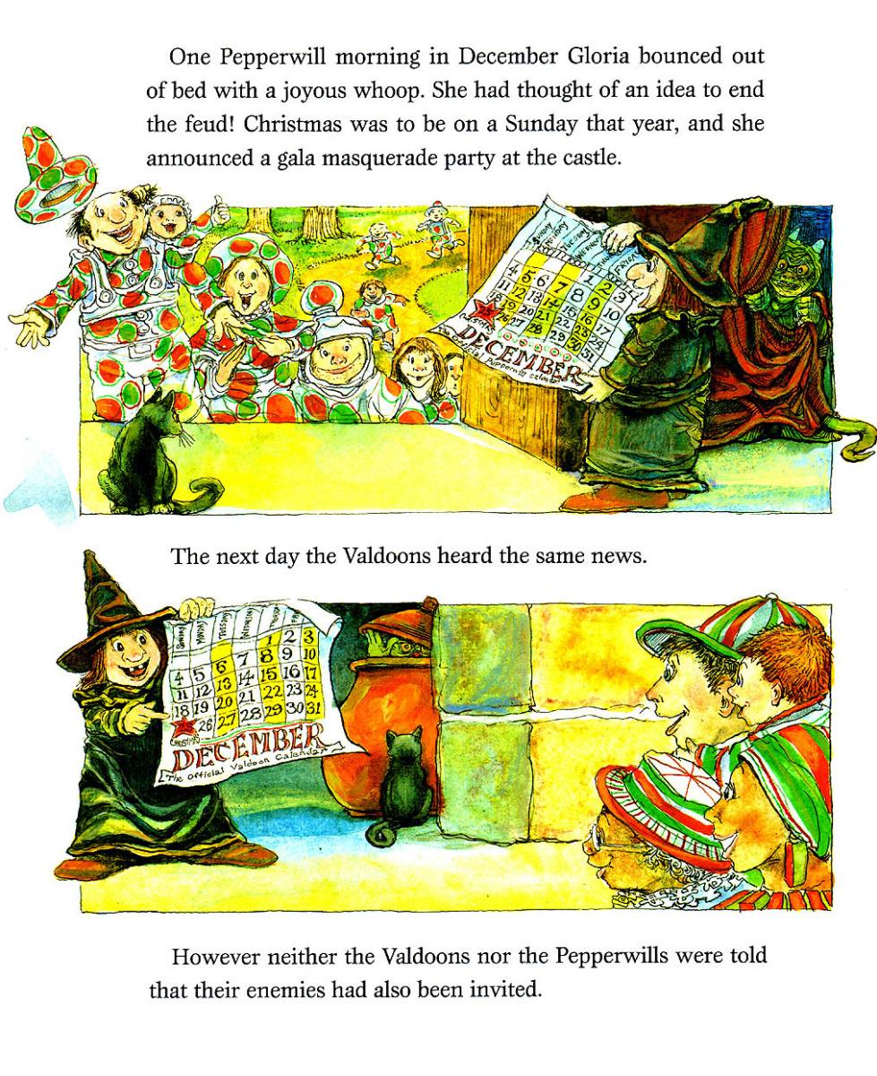 Стивен Келлог. Рождественская ведьма 15