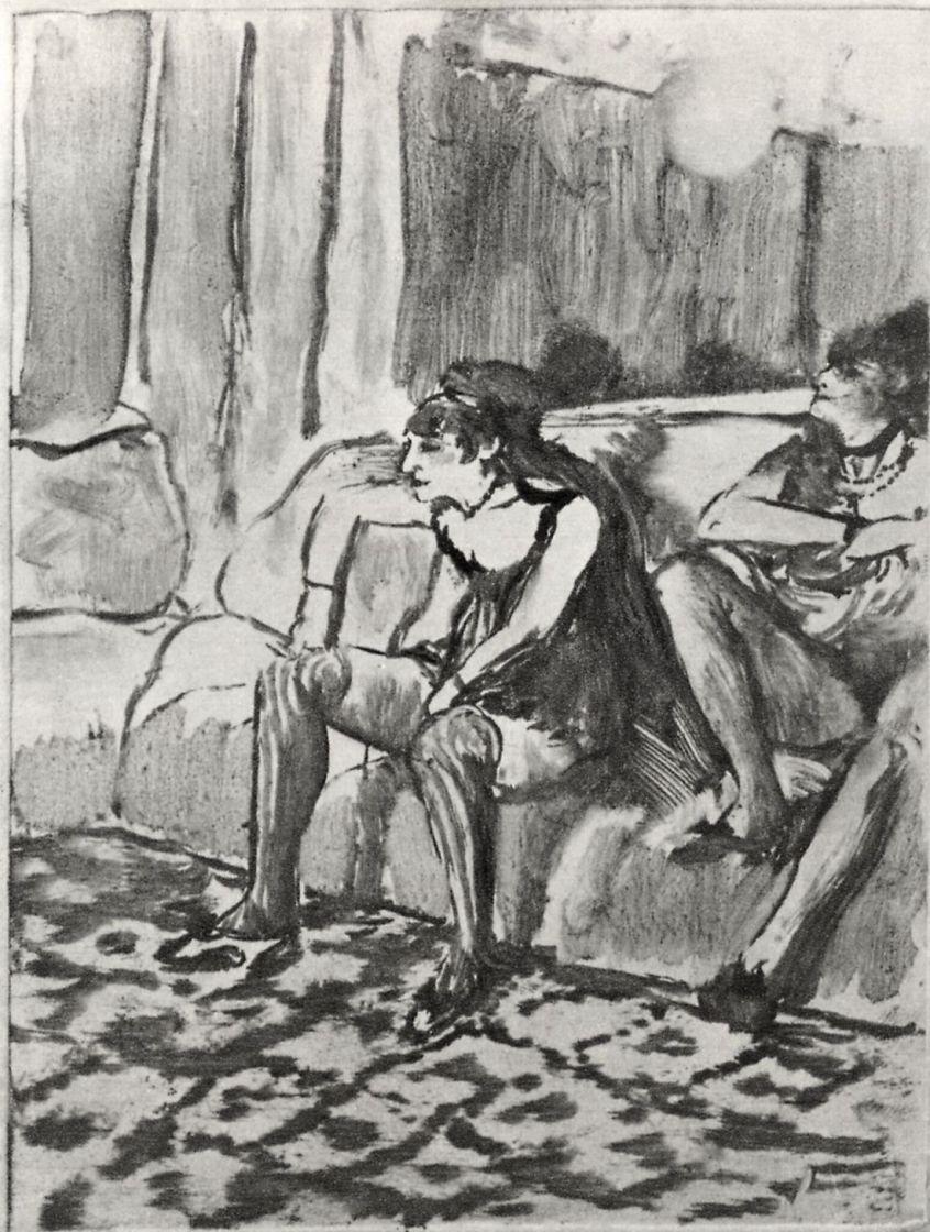Эдгар Дега. Две женщины