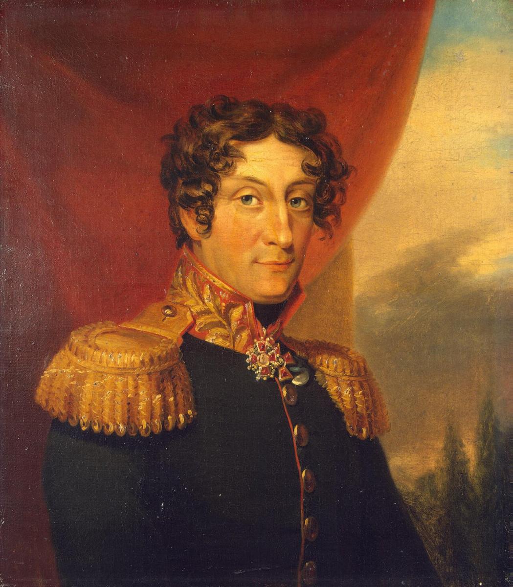 George Dow. Portrait Of Alexander Yakovlevich Patton