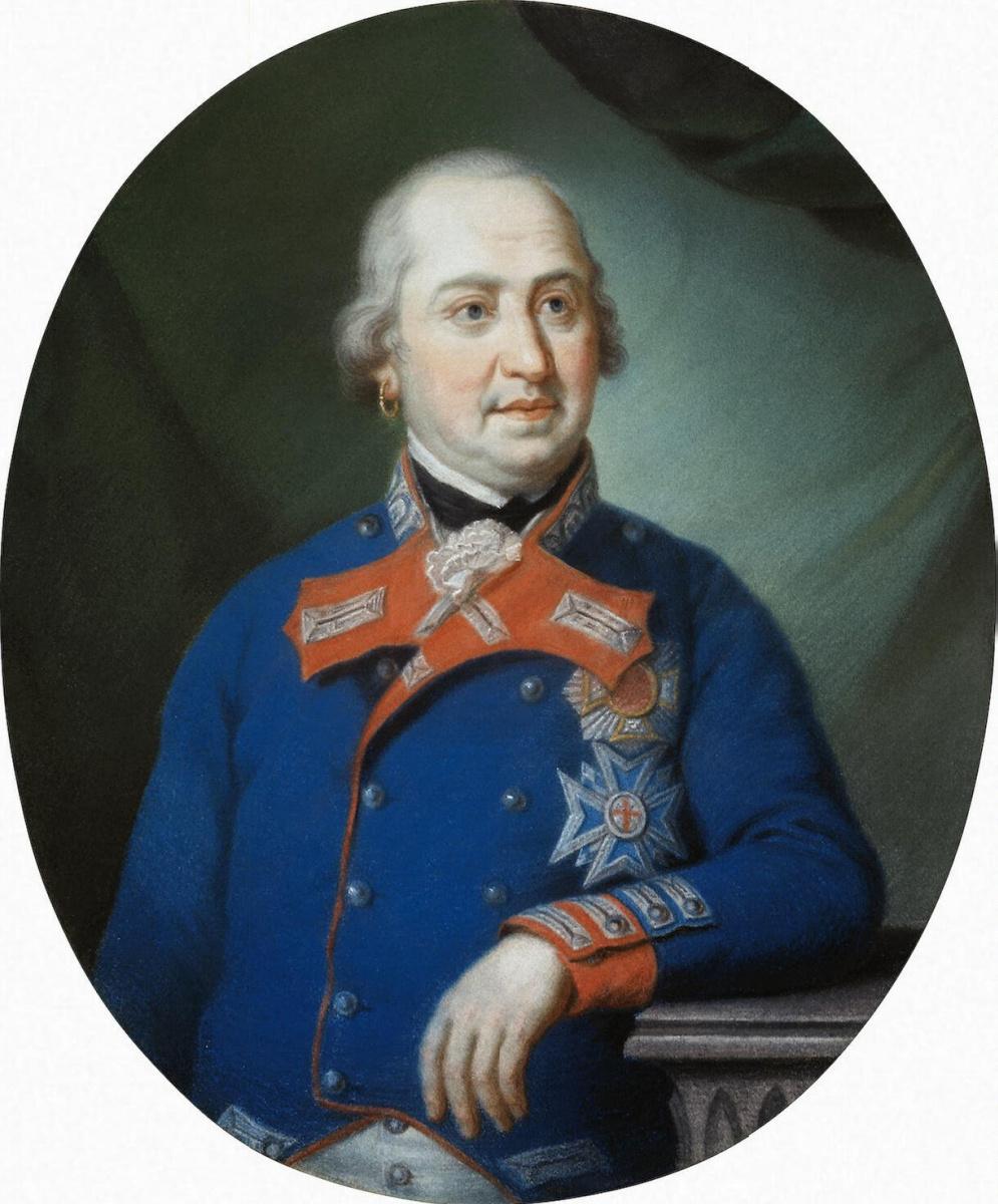 Конрад Гейгер. Портрет Баварского курфюрста Максимилиана IV Иосифа