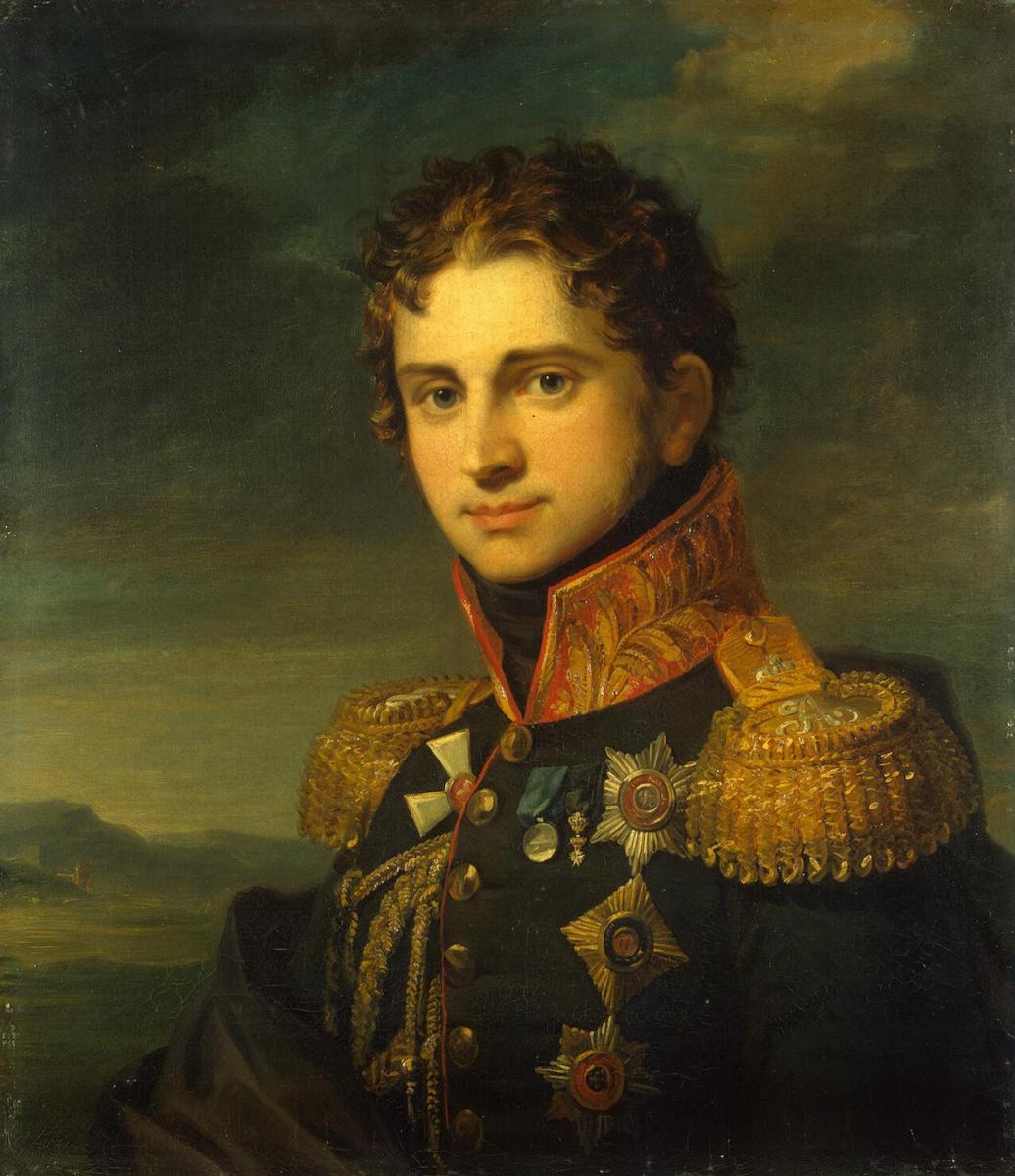 Джордж Доу. Портрет Павла Александровича Строганова