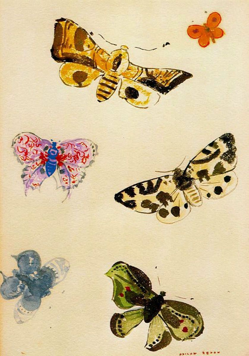 Butterfly by Odilon Redon: History, Analysis & Facts