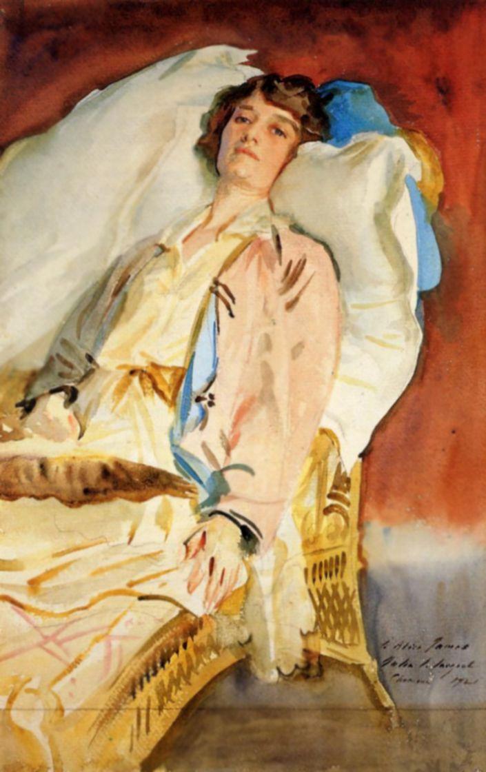 John Singer Sargent. Alice Runnels James