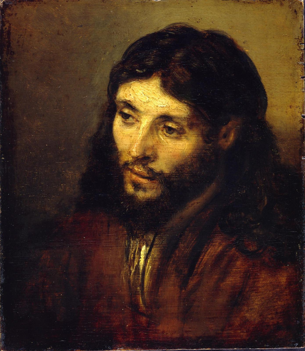 Рембрандт Харменс ван Рейн. Голова Христа