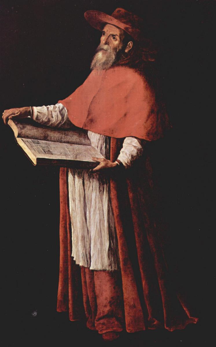 Франсиско де Сурбаран. Святой Иероним