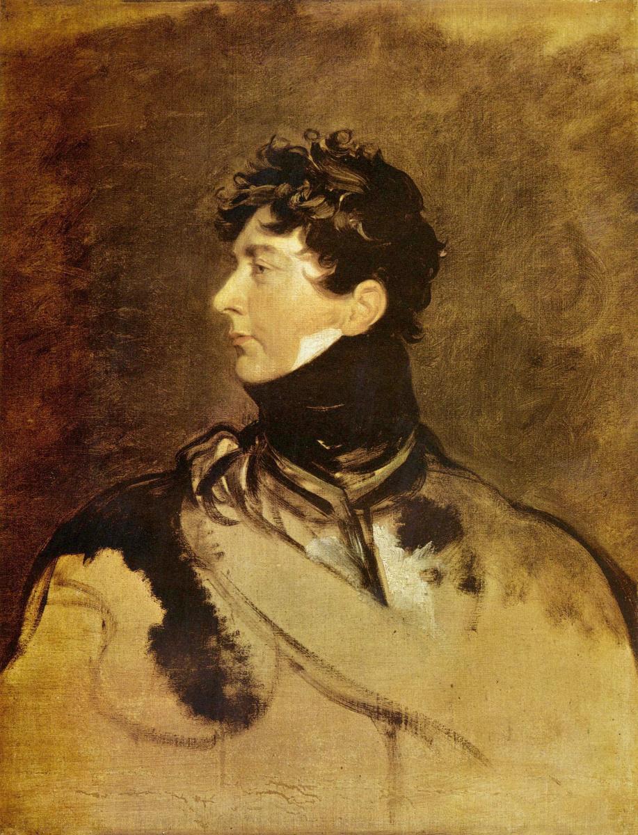 Томас Лоуренс. Портрет Георга IV принца-регента
