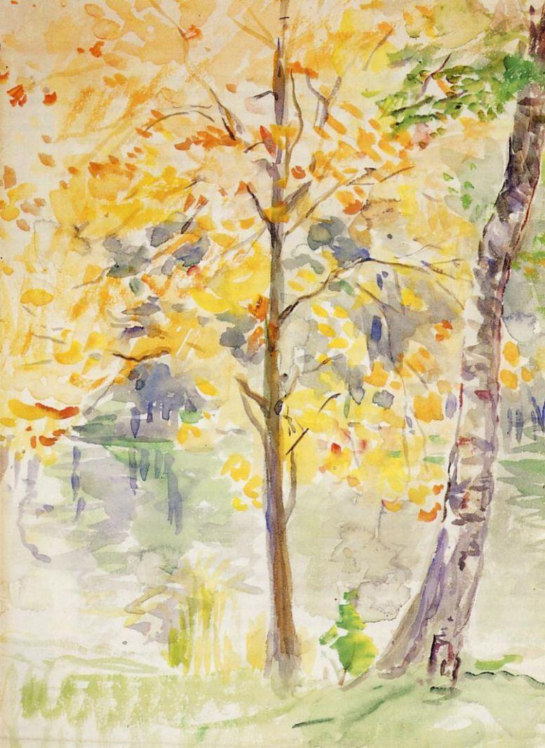 Берта Моризо. Цвета осени в Булонском лесу
