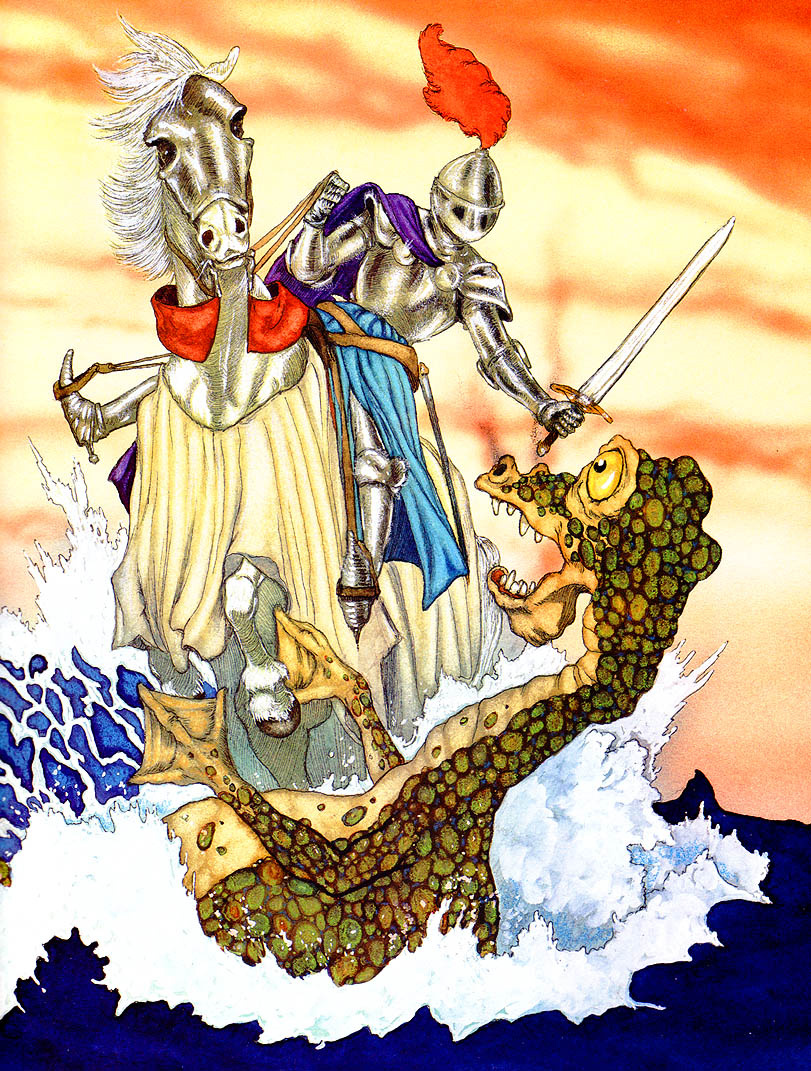 Майкл Хаг. Св. Георг и дракон