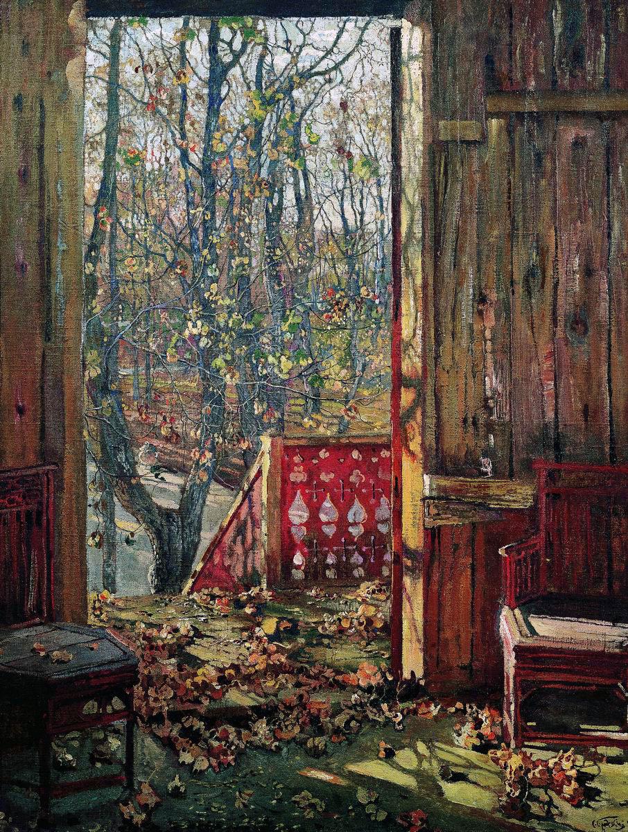 Исаак Израилевич Бродский. Опавшие листья