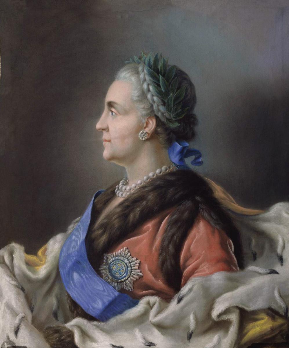 Vladimir Borovikovsky. Portrait of Catherine II