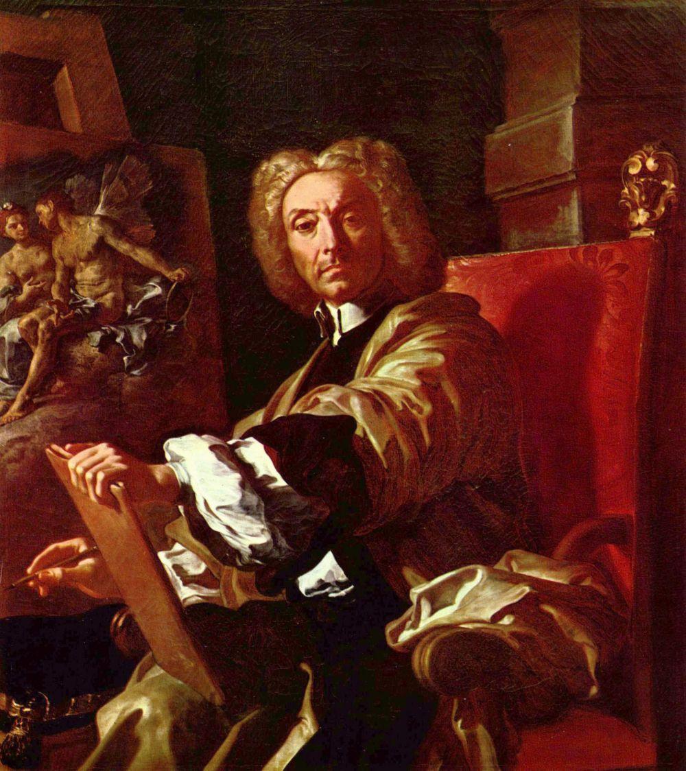 Франческо Солимена. Автопортрет