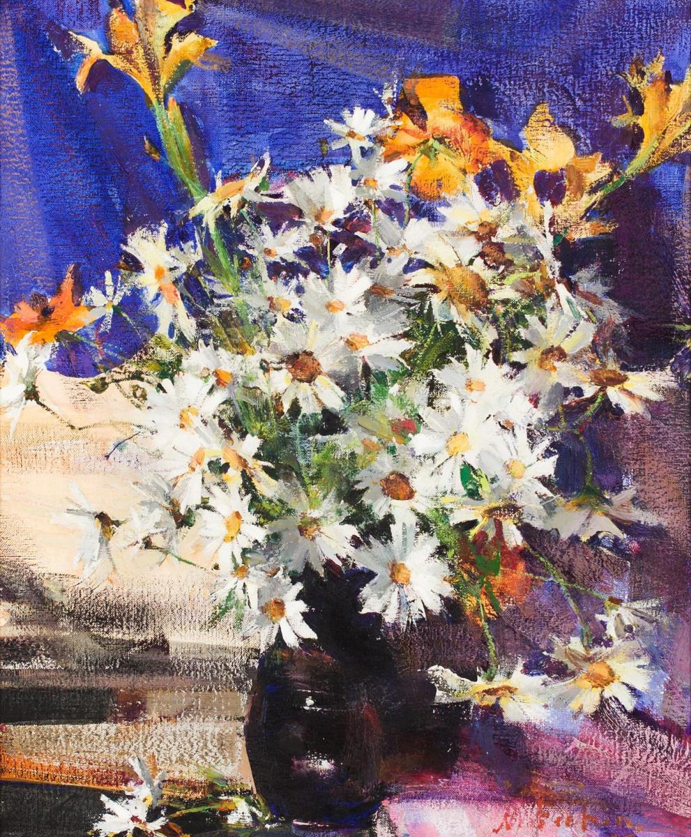 Nikolay Feshin. Bouquet in a Vase