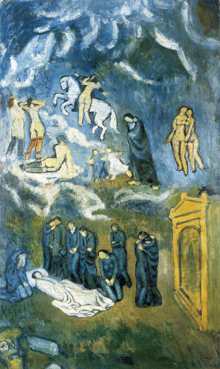 Пабло Пикассо. Похороны Касагемаса