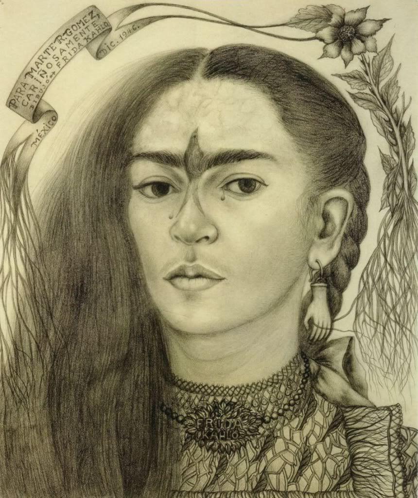 Фрида Кало. Автопортрет