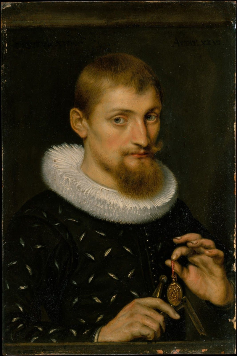 Питер Пауль Рубенс. Мужской портрет