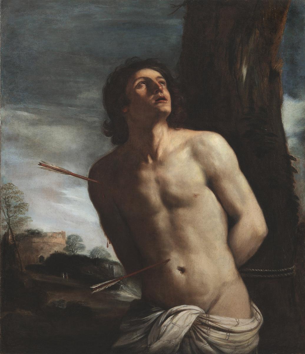 Giovanni Francesco Guercino. Saint Sebastian