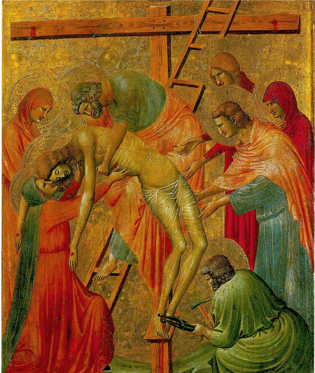 Пьетро Да Римини. Снятие с креста
