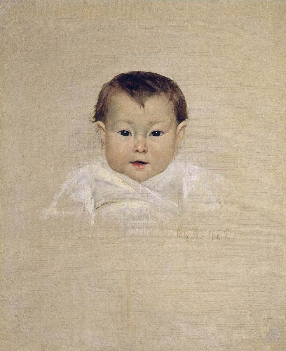 Мария Константиновна Башкирцева. Three smiles. The smile of the child