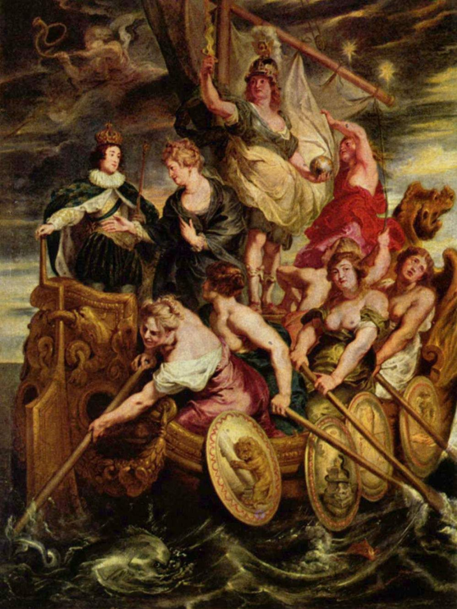 Питер Пауль Рубенс. Совершеннолетие Людовика XIII