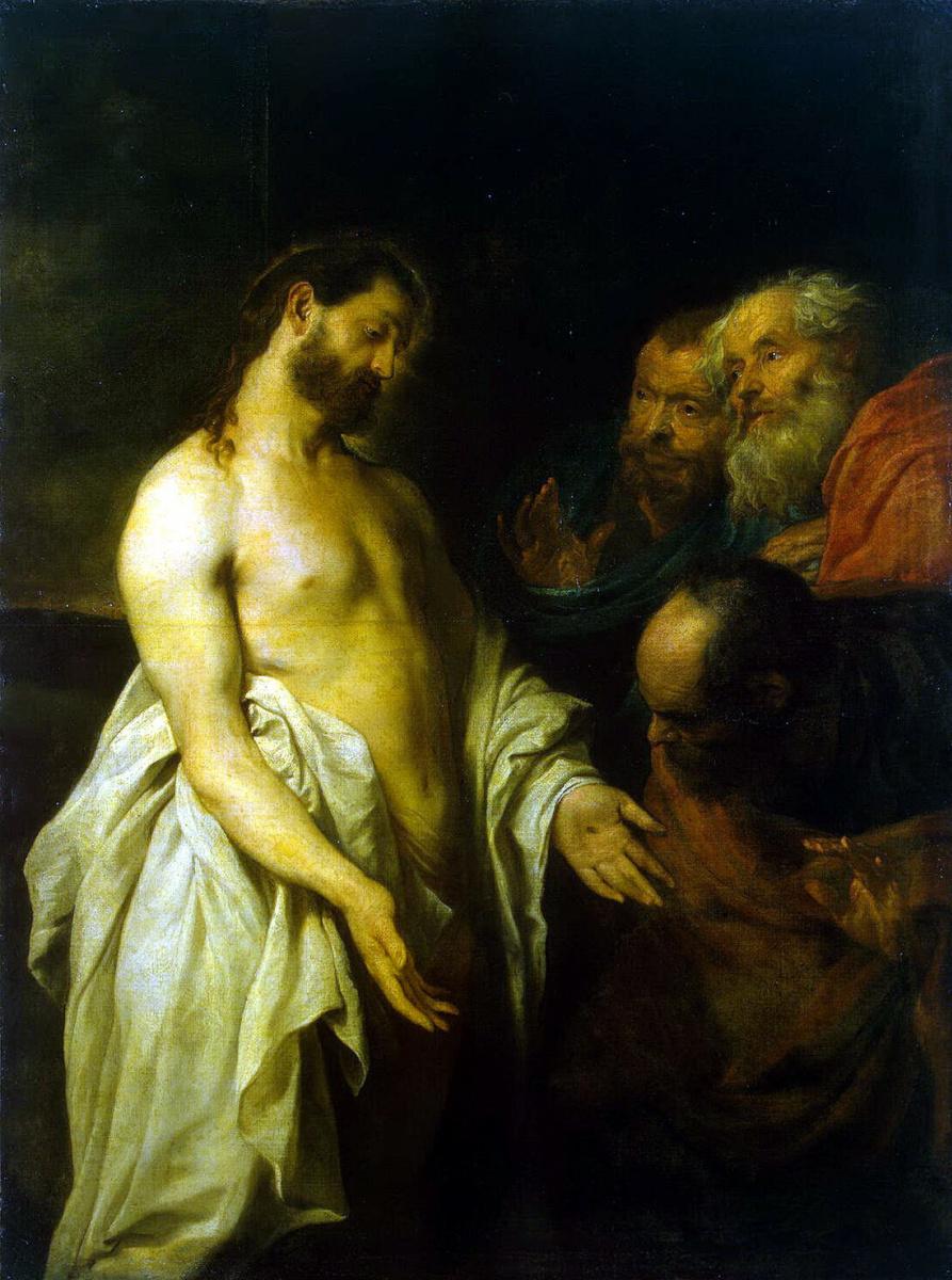 Антонис ван Дейк. Явление Христа ученикам