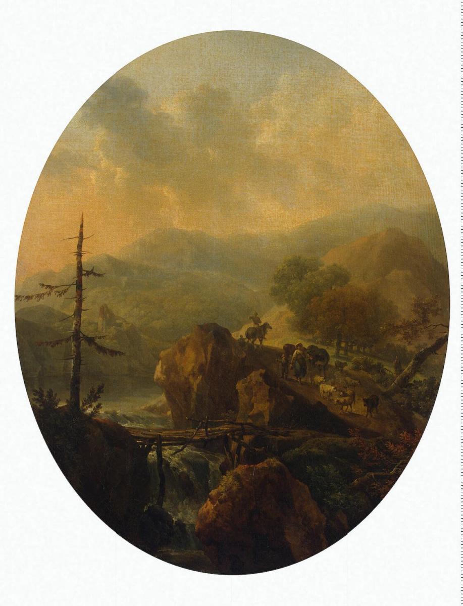 Никола Тоне. Горный пейзаж