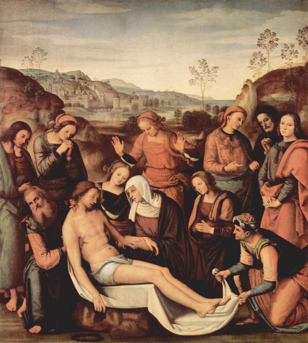 Пьетро Перуджино. Оплакивание Христа