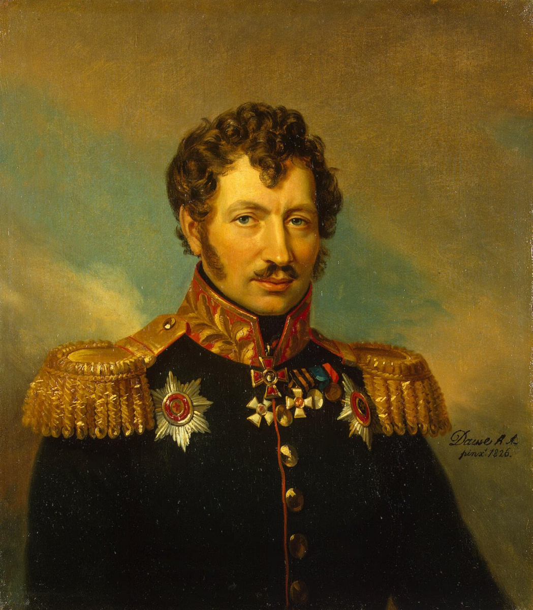 Джордж Доу. Портрет Циприана Антоновича Крейца