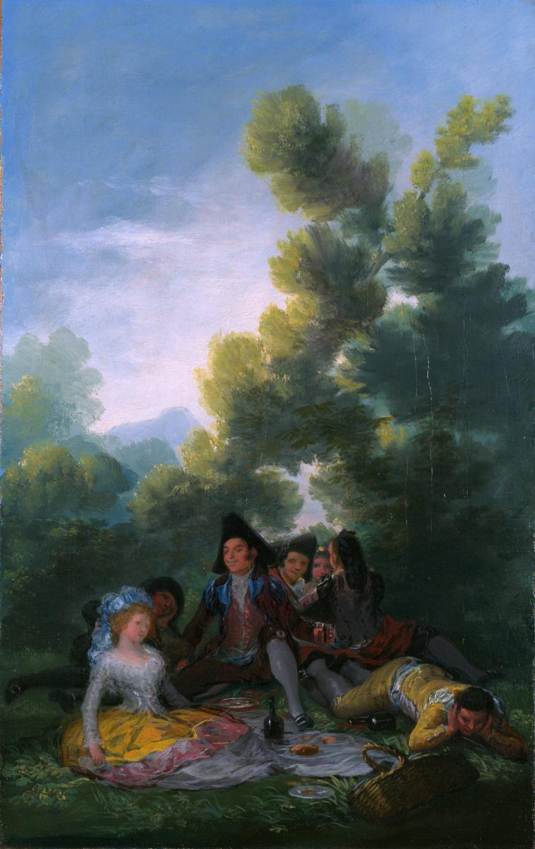 Де Гойи Франсиско. Пикник