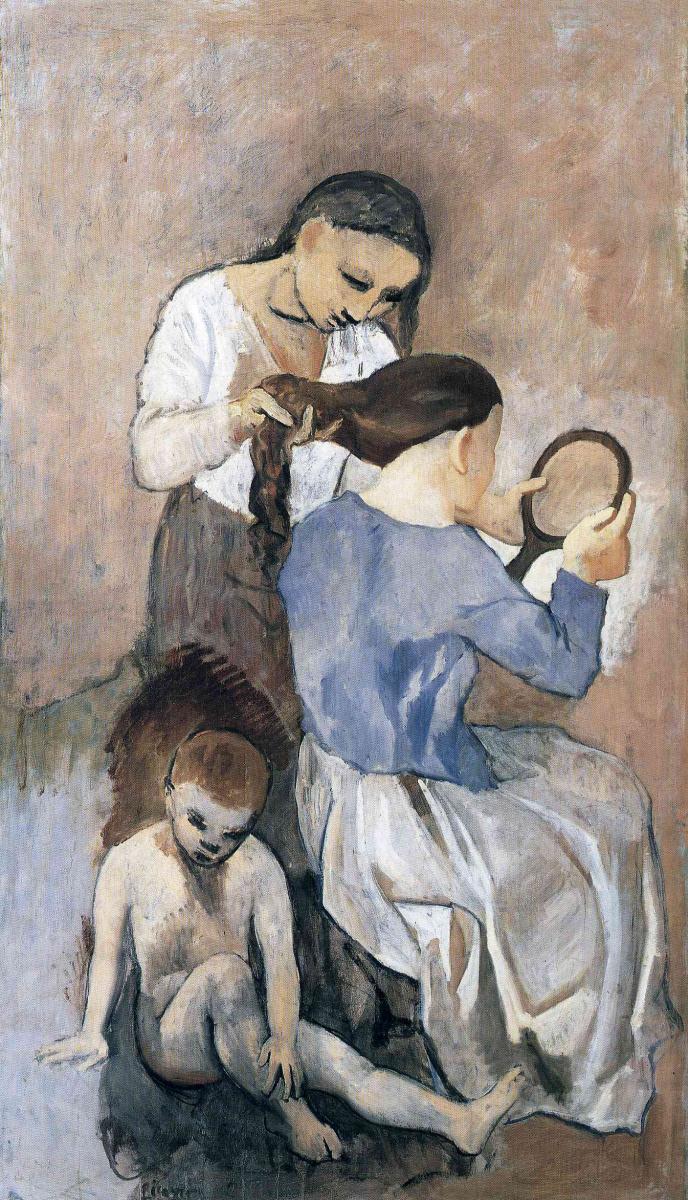 Пабло Пикассо. Причесывание