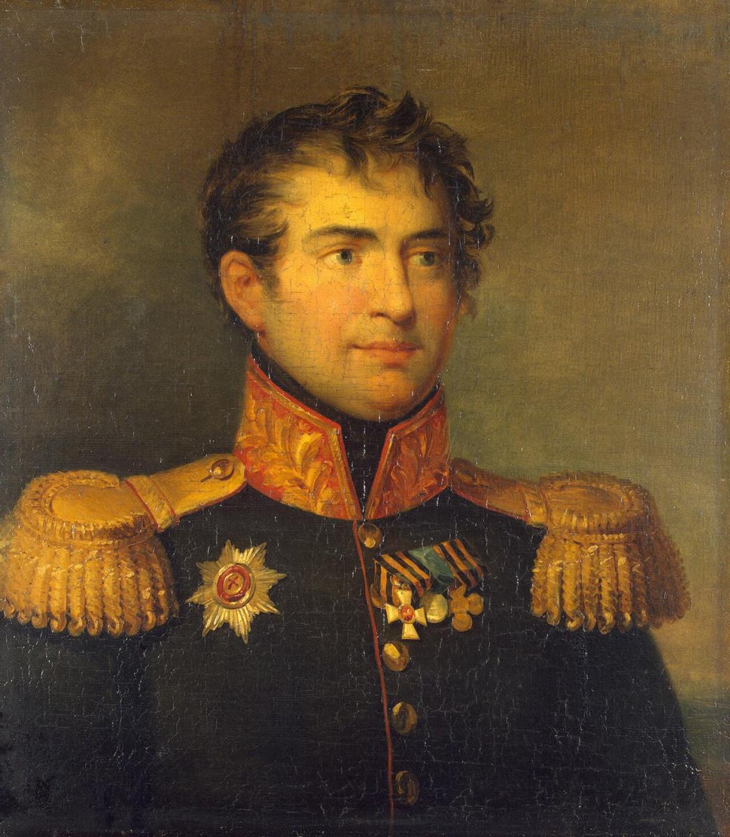 Джордж Доу. Портрет Карла Максимовича Герцдорфа
