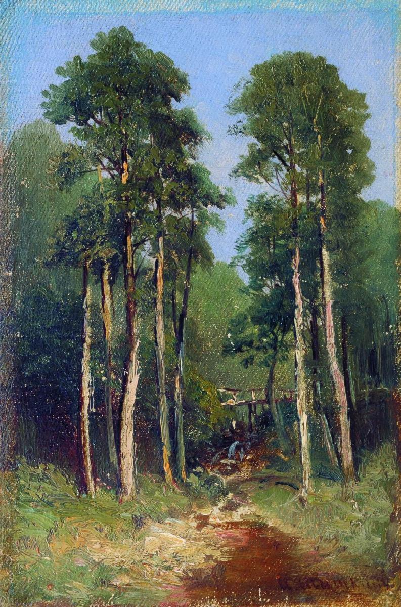 Иван Иванович Шишкин. Лесной ручей