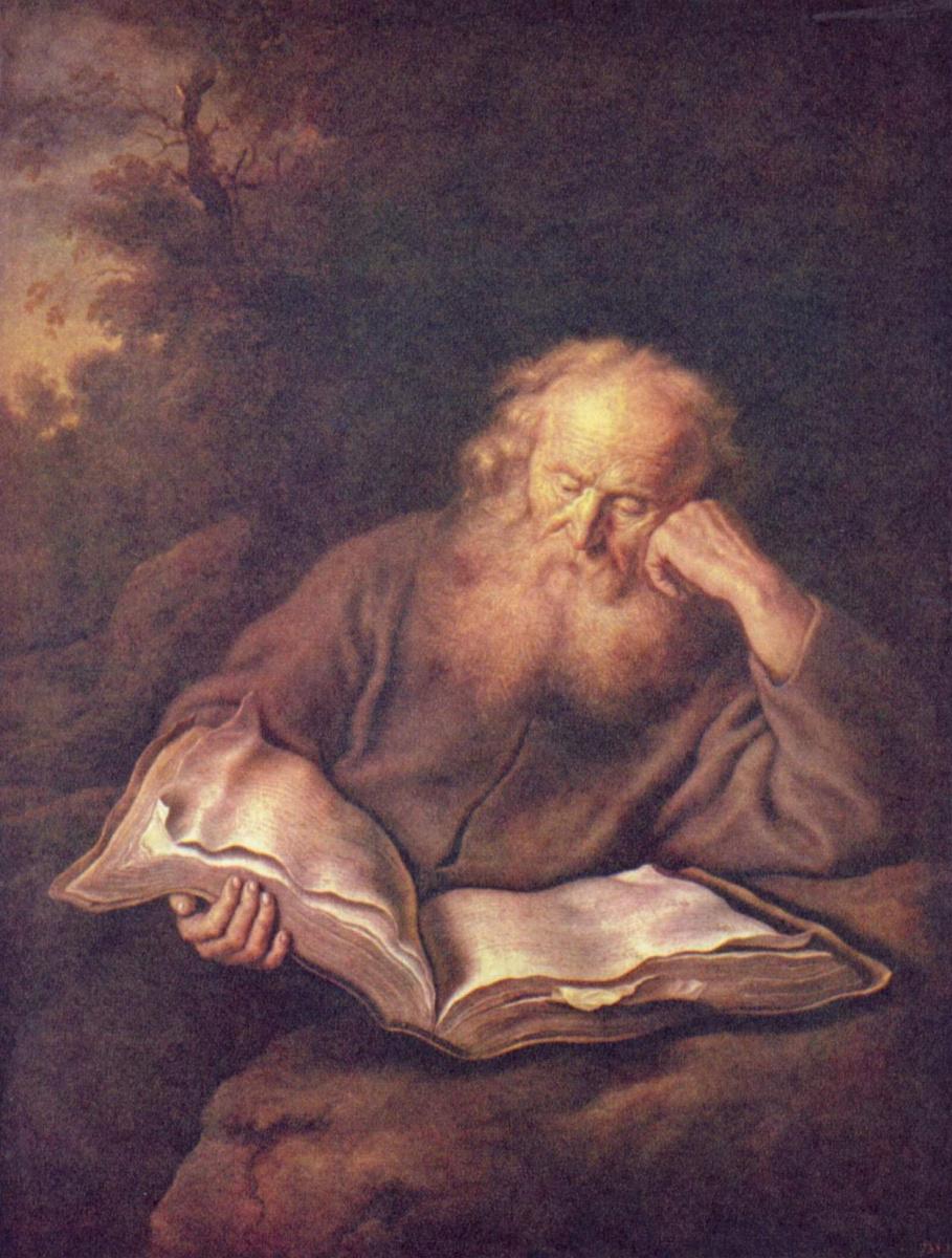 Саломон Конинк. Отшельник